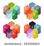 set of vector option... | Shutterstock .eps vector #533350663