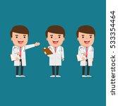 young doctor | Shutterstock .eps vector #533354464