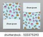 Vector Set Banner With  Shell ...
