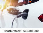 new era of vehicle fuel. power... | Shutterstock . vector #533381200