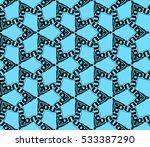 vector seamless pattern. modern ... | Shutterstock .eps vector #533387290