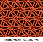 geometric shape abstract vector ... | Shutterstock .eps vector #533389798