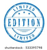 """rubber stamp with text """"limited ... 