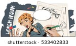 stock illustration. people in... | Shutterstock .eps vector #533402833