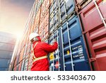 foreman control loading... | Shutterstock . vector #533403670