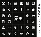 bank icons universal set for... | Shutterstock . vector #533405734