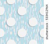 seamless circle pattern.... | Shutterstock .eps vector #533412964