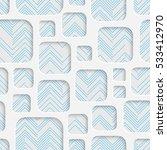 seamless square pattern.... | Shutterstock .eps vector #533412970