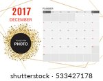december planner calendar... | Shutterstock .eps vector #533427178