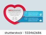 vector infographic template ...   Shutterstock .eps vector #533462686