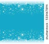 falling shining snowflakes....   Shutterstock .eps vector #533467894