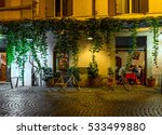 night view of old cozy street... | Shutterstock . vector #533499880