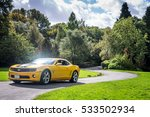 Yellow Supercar Chevrolet...