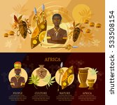 travel to africa infographic ... | Shutterstock .eps vector #533508154