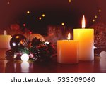 burning candles flame light at... | Shutterstock . vector #533509060