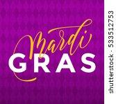 mardi gras gold glitter... | Shutterstock .eps vector #533512753