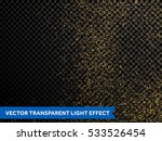 gold glitter particles on... | Shutterstock .eps vector #533526454