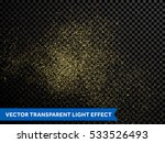 shining glow particles and... | Shutterstock .eps vector #533526493