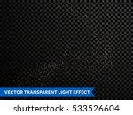 golden confetti glitter... | Shutterstock .eps vector #533526604