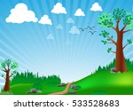 vector illustration  green... | Shutterstock .eps vector #533528683