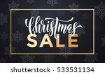 banner christmas sale...   Shutterstock .eps vector #533531134