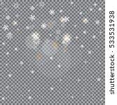 winter snow and light reflect... | Shutterstock .eps vector #533531938