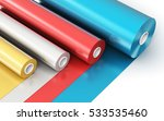 creative abstract 3d render... | Shutterstock . vector #533535460