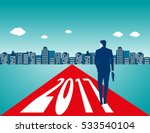 businessman carrying bag and... | Shutterstock .eps vector #533540104
