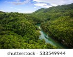 Loboc River. Phillipines  Boho...