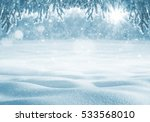 Winter Bright Background....
