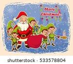vector illustration of santa... | Shutterstock .eps vector #533578804