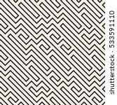 irregular maze line. abstract...   Shutterstock .eps vector #533591110