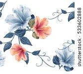 illustration of beautiful... | Shutterstock . vector #533602888