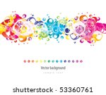 abstract colorful background.... | Shutterstock .eps vector #53360761