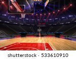 basketball court. sport arena...   Shutterstock . vector #533610910