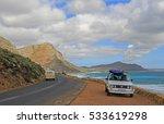 misty cliffs november 17  a... | Shutterstock . vector #533619298