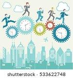 clockwork business efficiency | Shutterstock .eps vector #533622748