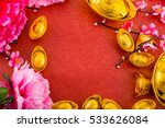 chinese new year decoration... | Shutterstock . vector #533626084