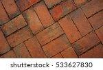 brick floor texture material... | Shutterstock . vector #533627830