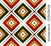 seamless pattern in christmas...   Shutterstock .eps vector #533628418
