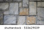 stone paving texture material...   Shutterstock . vector #533629039