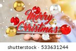 businessman on blurred... | Shutterstock . vector #533631244