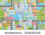 vector illustration. city view...   Shutterstock .eps vector #533634163