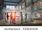 business partners handshake .... | Shutterstock . vector #533634328