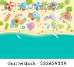 vector illustration. sunny... | Shutterstock .eps vector #533639119