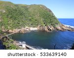 bridge over the storms river... | Shutterstock . vector #533639140