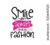 vector poster with phrase decor ... | Shutterstock .eps vector #533640520