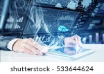 media technologies for business ...   Shutterstock . vector #533644624