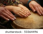 Hands  Of Teacher And Student...
