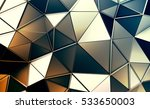abstract 3d rendering of... | Shutterstock . vector #533650003